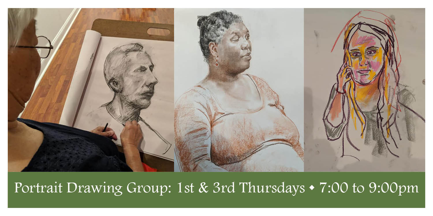 Portrait Drawing Group - Newark Arts Alliance - Delaware