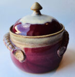 Pot with Lid by Mary Anderson, $50