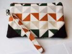 Triangle pouch by Liz Baehr, $17