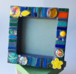 Nature Lover Mosaic Frame by Terry Foreman, $28