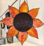 """""""Sunflower"""" by Ingrid Jackoway, $75"""