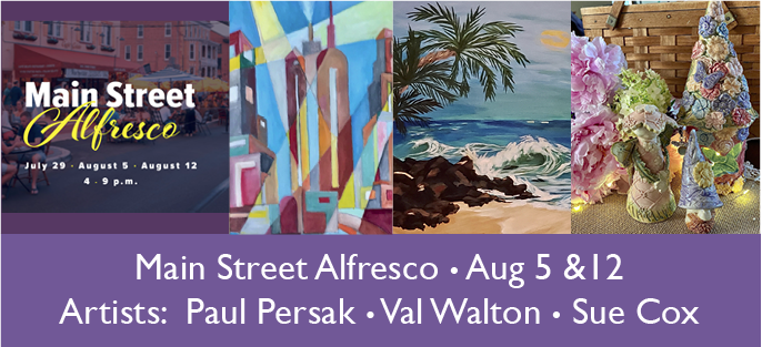 Main Street Alfresco - Newark Arts Alliance - Delaware Art