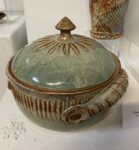 Ceramic Casserole by Mary Anderson, $85