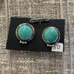 Silver & Turquoise Earrings by Susan Schulz, $50