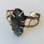 Cuff bracelet by Colleen Zufelt, $160